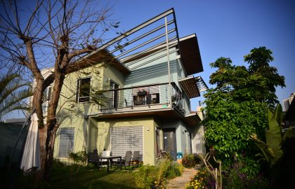בית בבניה ירוקה ומתקדמת