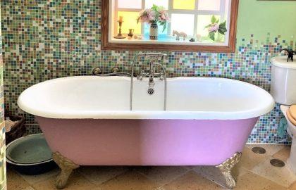 אמבטיה עם רגליים זה ירוק !